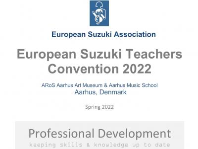 European Suzuki Teachers Convention DENMARK