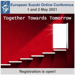2021 European Suzuki Online Conference Registration is open