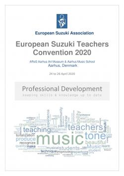 2020 European Suzuki Teachers Convention POSTER3